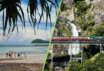 Self-Drive Skyrail & Train + Cape Tribulation