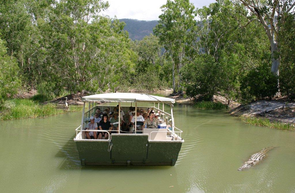 Boat Cruise at Hartley's Crocodile Adventures